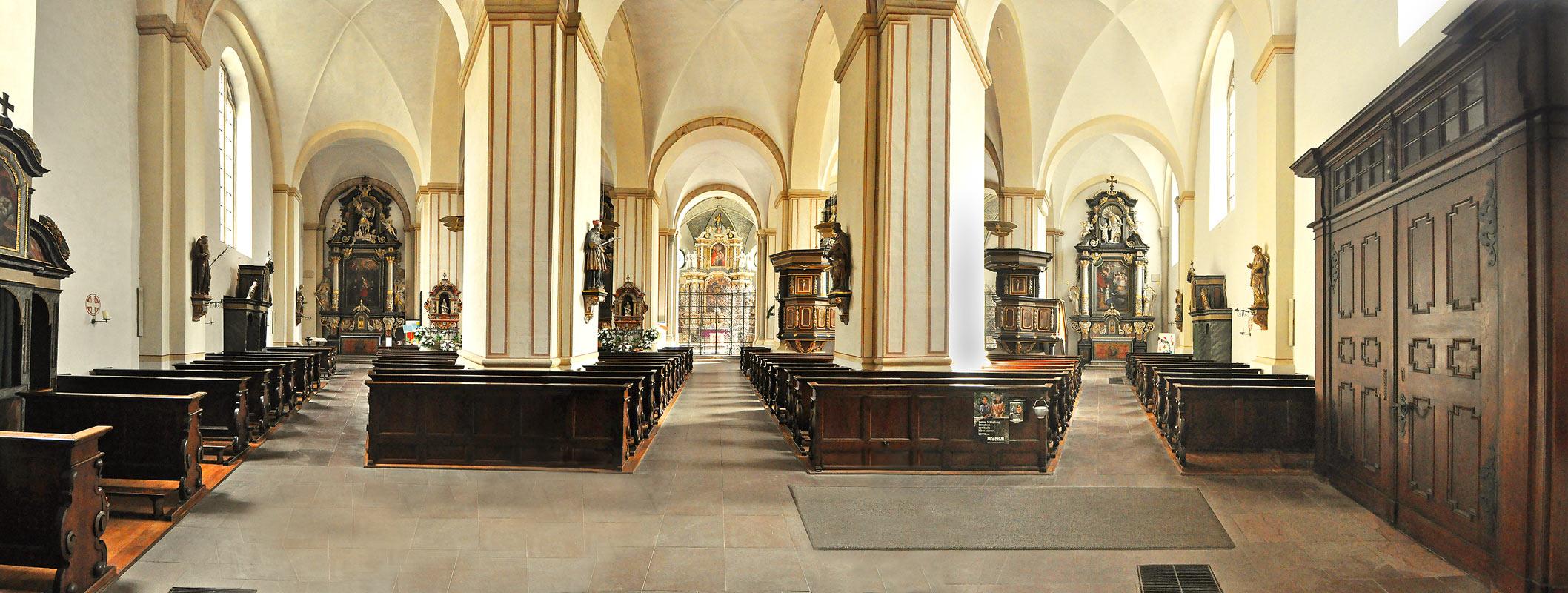 kloster und abtei marienm nster   blick in den altarraum